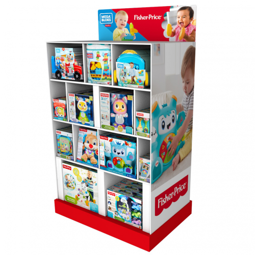 BOX PRODUITS FISHER PRICE